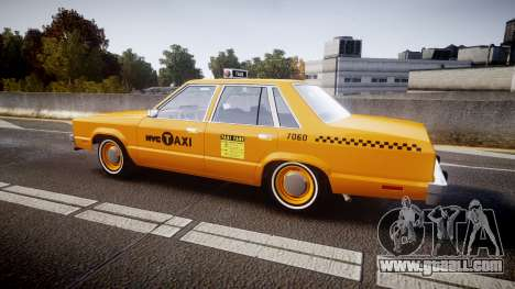 Ford Fairmont 1978 Taxi v1.1 for GTA 4 left view