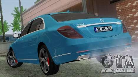 Mercedes-Benz S350 2015 Bluetec for GTA San Andreas left view