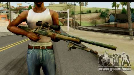 M24 from Sniper Ghost Warrior 2 for GTA San Andreas third screenshot