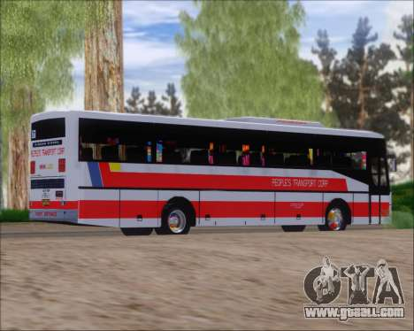 Nissan Diesel UD Peoples Transport Corporation for GTA San Andreas right view