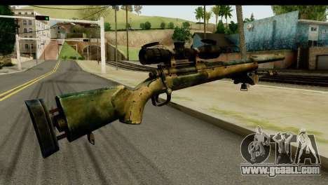 M24 from Sniper Ghost Warrior 2 for GTA San Andreas second screenshot