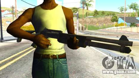 Shotgun from Global Ops: Commando Libya for GTA San Andreas third screenshot