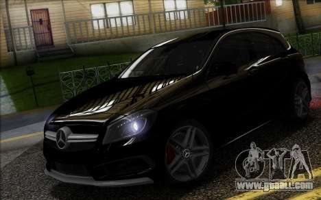 Mercedes-Benz A45 AMG for GTA San Andreas left view