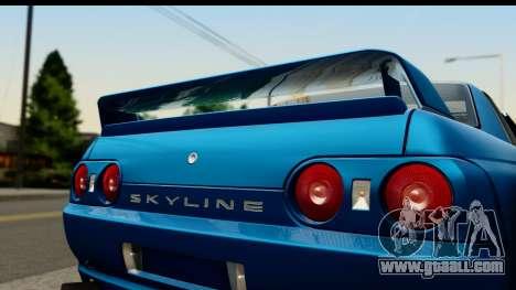 Nissan Skyline R32 Targa for GTA San Andreas back left view