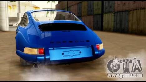 Porsche 911 Carrera 2.7RS Coupe 1973 Tunable for GTA San Andreas wheels
