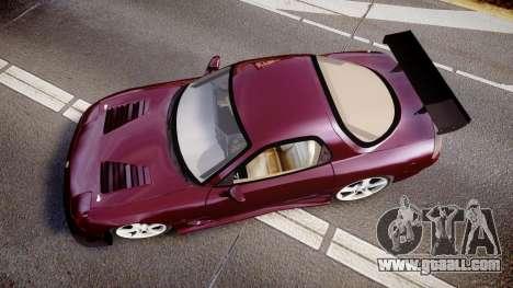 Mazda RX-7 Custom for GTA 4 right view