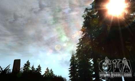 New glare for GTA San Andreas