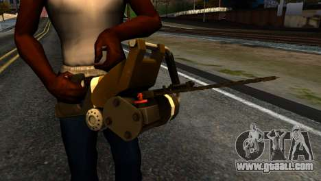 New Chainsaw for GTA San Andreas third screenshot
