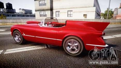 Chevrolet Corvette C1 1953 race for GTA 4 left view