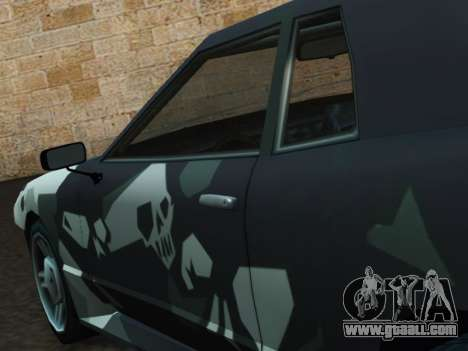 Elegy Korch for GTA San Andreas right view