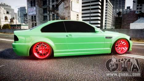 BMW M3 E46 Green Editon for GTA 4