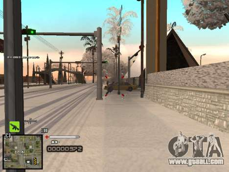 A simple C-HUD for GTA San Andreas fifth screenshot