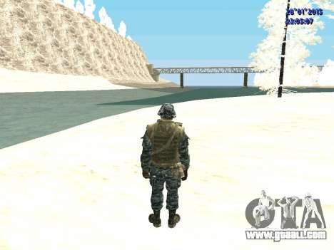 The special forces of the Russian Federation (Co for GTA San Andreas third screenshot