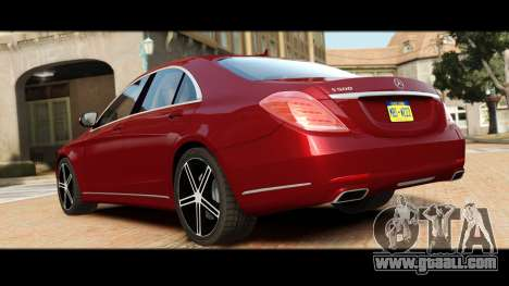Mercedes-Benz S500 W222 for GTA 4 right view