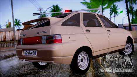 Lada 2112 for GTA San Andreas left view