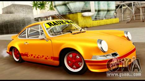 Porsche 911 Carrera 2.7RS Coupe 1973 Tunable for GTA San Andreas