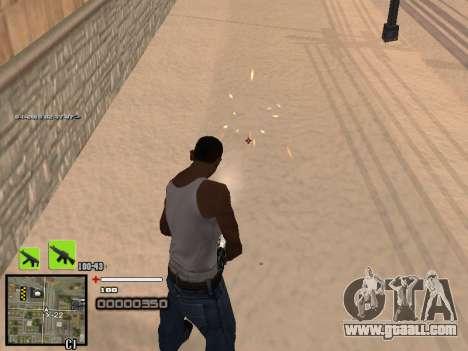 A simple C-HUD for GTA San Andreas second screenshot