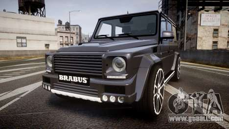 Mercedes-Benz G65 Brabus rims2 for GTA 4