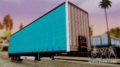 Volvo FH12 Low Deck Trailer for GTA San Andreas