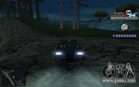 C-HUD SWAG Killerz for GTA San Andreas eighth screenshot