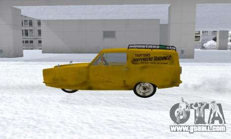 Reliant Supervan Only Fools and Horses for GTA San Andreas left view