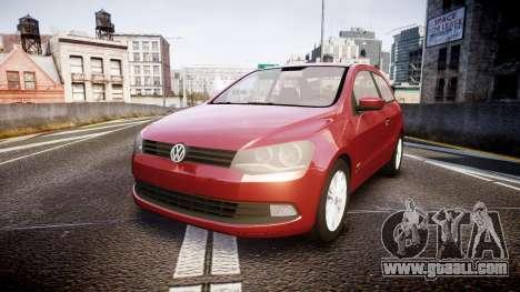 Volkswagen Gol G6 iTrend 2014 rims1 for GTA 4