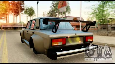 VAZ 2105 Sports for GTA San Andreas back left view