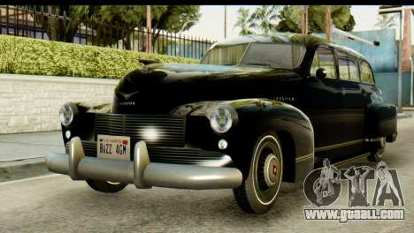 Lassiter Series 75 Hollywood for GTA San Andreas