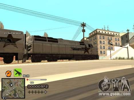 A simple C-HUD for GTA San Andreas sixth screenshot