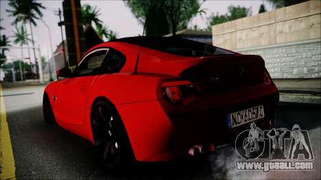 BMW Z4 M85 for GTA San Andreas left view