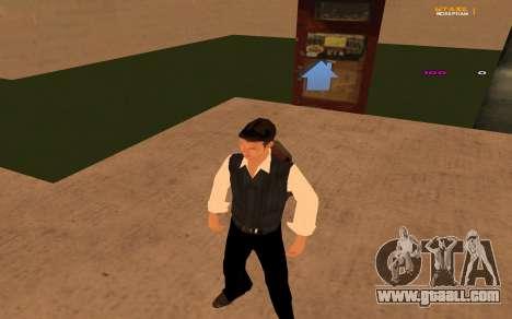 New animation by Ozlonshok for GTA San Andreas