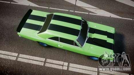 Dodge Dart HEMI Super Stock 1968 rims3 for GTA 4 right view