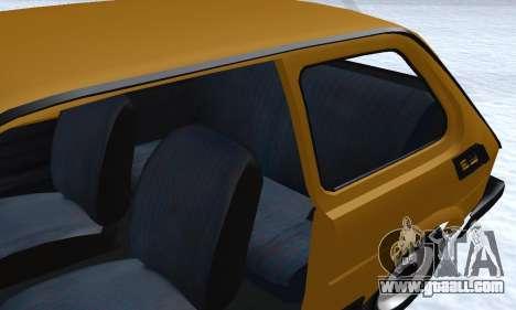 Fiat 126p FL for GTA San Andreas