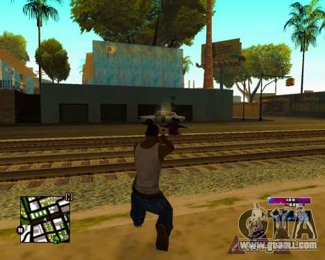 Space C-HUD v2.0 for GTA San Andreas forth screenshot