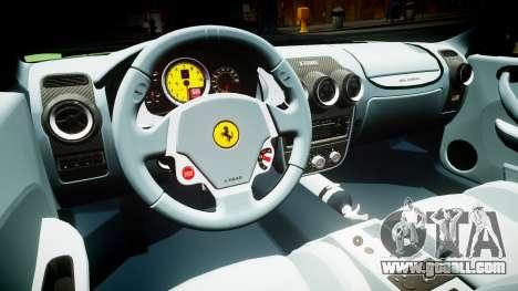 Ferrari F430 2004 for GTA 4 inner view