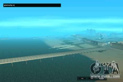 SampGUI Aqua for GTA San Andreas second screenshot