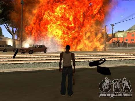 New Realistic Effects 4.0 Full Final Version for GTA San Andreas third screenshot
