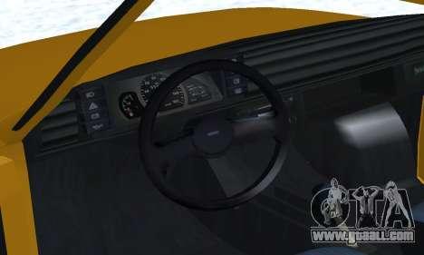 Fiat 126p FL for GTA San Andreas wheels