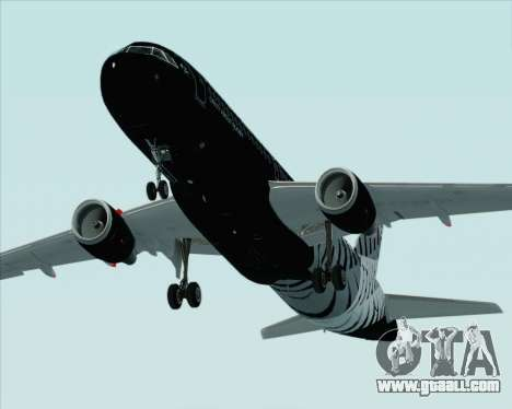 Airbus A320-200 Air New Zealand for GTA San Andreas engine