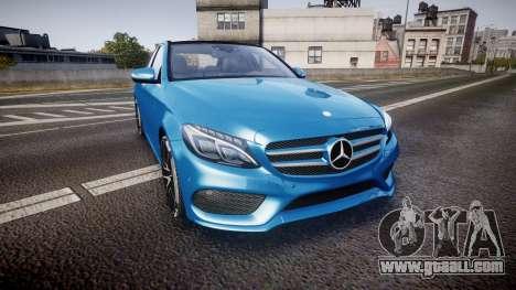 Mercedes-Benz C250 AMG (W205) 2015 for GTA 4