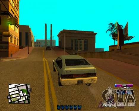 Space C-HUD v2.0 for GTA San Andreas