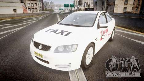 Holden Commodore Omega Queensland Taxi v3.0 for GTA 4
