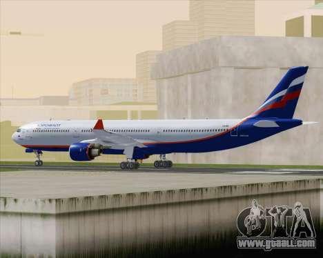 Airbus A330-300 Aeroflot - Russian Airlines for GTA San Andreas