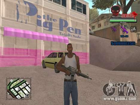 C-HUD by VinC for GTA San Andreas second screenshot