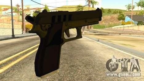 Pistol from GTA 5 for GTA San Andreas second screenshot