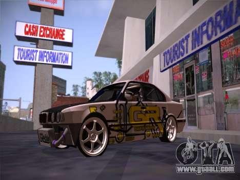 BMW M5 E34 Grip Runners Team for GTA San Andreas