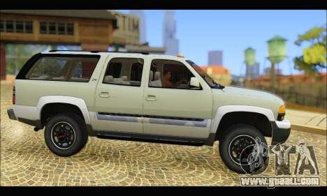 GMC Yukon XL 2003 v.2 for GTA San Andreas left view