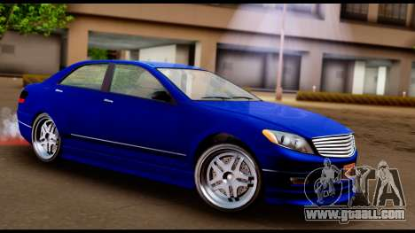 GTA 5 Schafter Bumper for GTA San Andreas