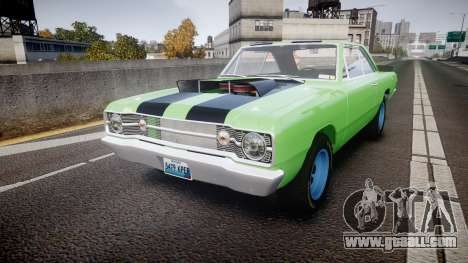 Dodge Dart HEMI Super Stock 1968 rims3 for GTA 4