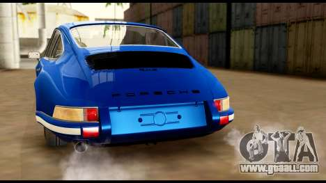 Porsche 911 Carrera 2.7RS Coupe 1973 Tunable for GTA San Andreas engine